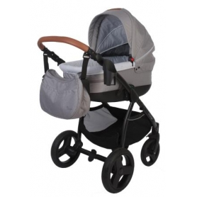 B-Zen 4 in 1 Stroller Light Grey (Without carseat)