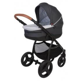 B-Zen 4 in 1 Stroller Donkergrijs/Zwart (Zonder autostoel)