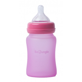 B-Thermo Glass Bottle 150 ml Pink