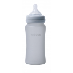 B-Thermo Glass Bottle 240 ml Grijs