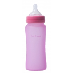 B-Thermo Glass Bottle 300 ml Pink