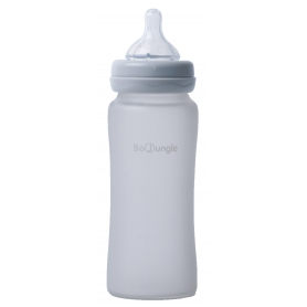 B-Thermo Glass Bottle 300 ml Grey
