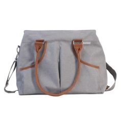 B-Casual Nursery Bag Grey