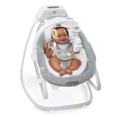 SmartSize Gliding Swing & Rocker™ - Bella Teddy™