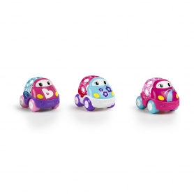 Go Grippers Pink Car 3-Pack