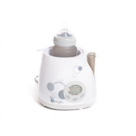 B-Bottle Warmer Superfast Digital Car and Home White/Grey