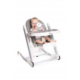 B-High Chair Grey