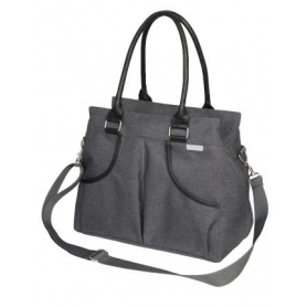 B-Casual Nursery Bag Donkergrijs