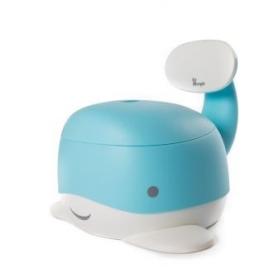 B-Whale Potty Blauw