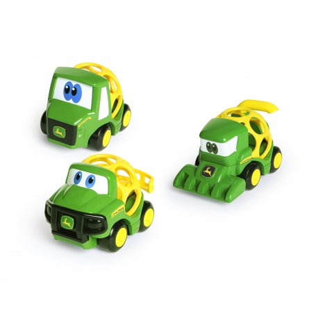 Oball Go Grippers John Deere Tough Ol' Trio Vehicle Set 3-Pack 12m+