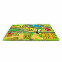 Oball Go Grippers John Deere Country Lanes Playmat & Vehicle 6m+